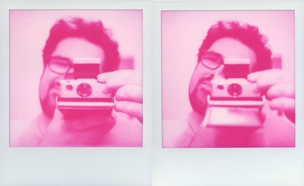 Autoportrait au magenta d'Impossible