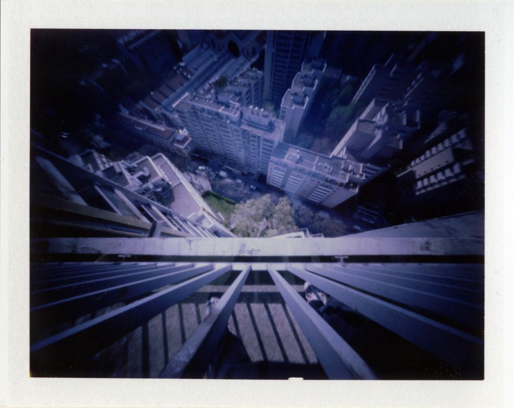 Le vertige vu du haut de chez moi au stenopé